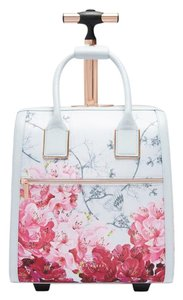 Ted Baker Polyester Carry On Suitcase Grey Travel Bag