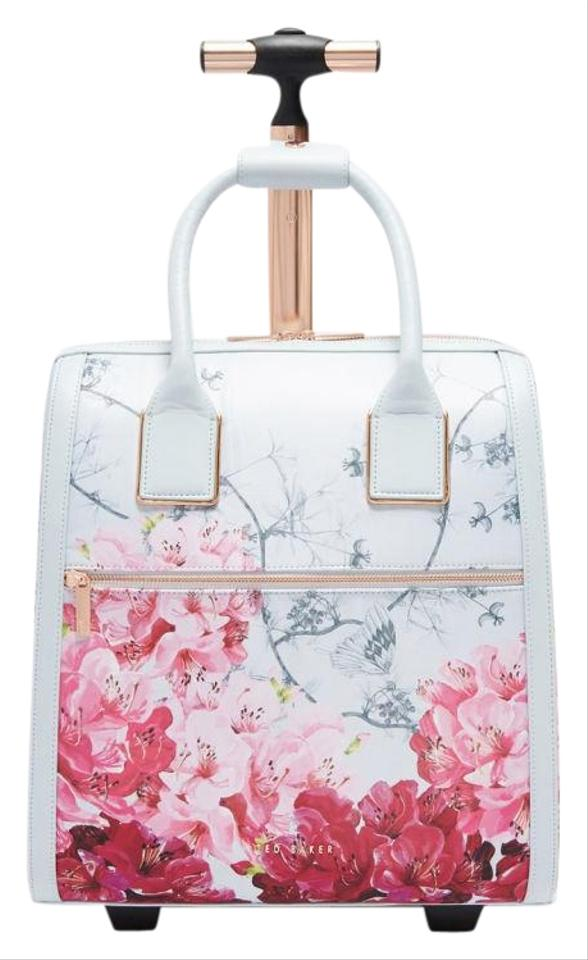9b2a93351 Ted Baker Clarra Babylon Two Wheel Carry On Suitcase Grey Polyester ...