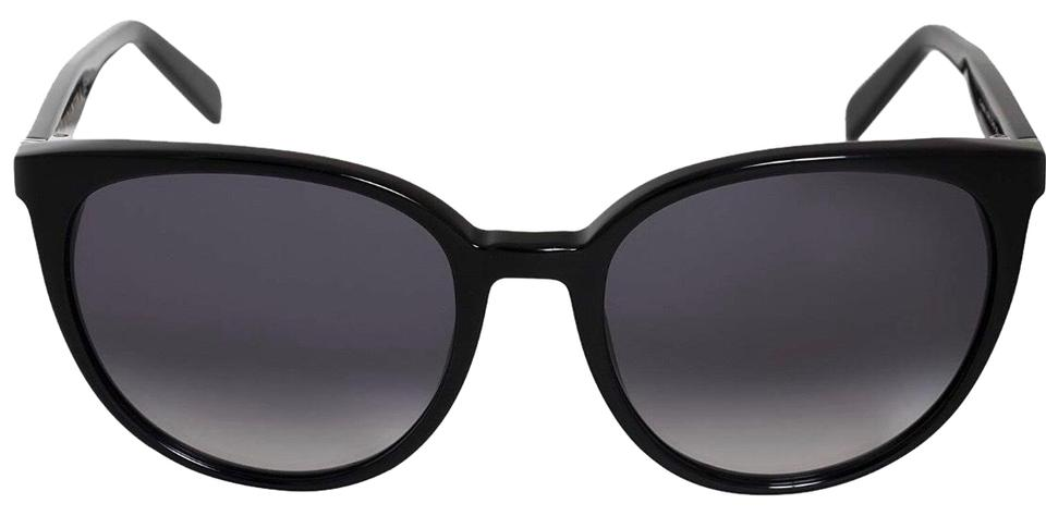 f0fa6ff2641 Céline Black Thin Mary Cl 41068 S Cat Eyeblack Dark Grey Shaded ...