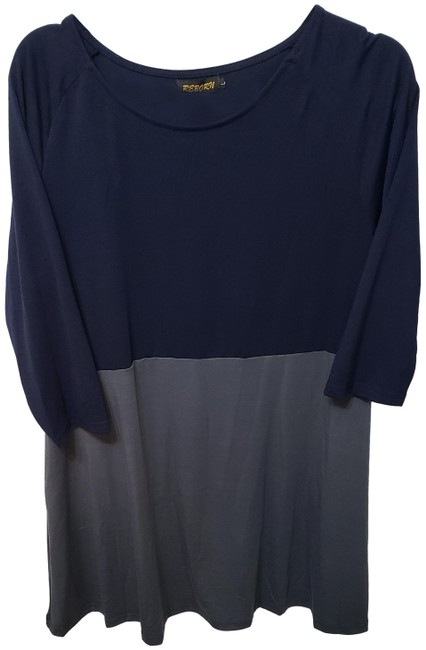 Item - Navy/Charcoal Tunic Size 12 (L)