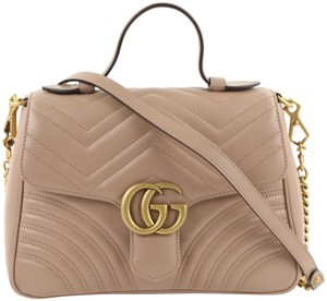 Gucci Gg Marmont Small Top Cross Body Bag