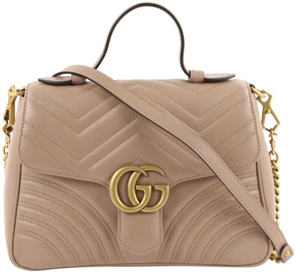 70c4cb8c3 Gucci Gg Marmont Small Top Cross Body Bag Image 0 ...