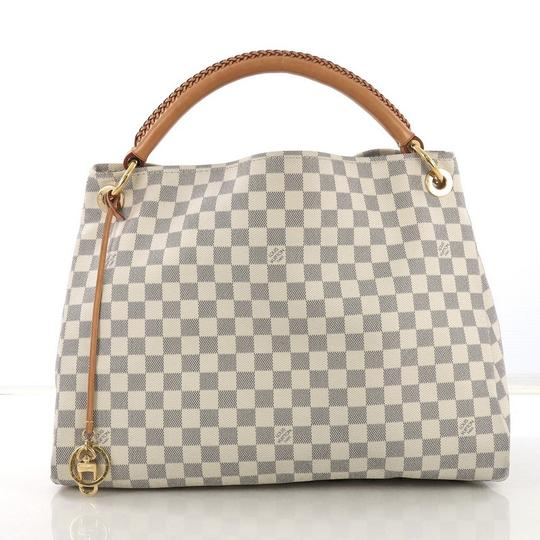 ff51f751d8fd Louis Vuitton Artsy Handbag Damier Mm Brown Coated Canvas Satchel ...