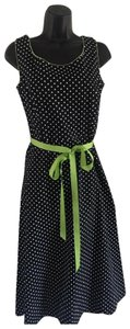 black/ white/ green Maxi Dress by Coldwater Creek