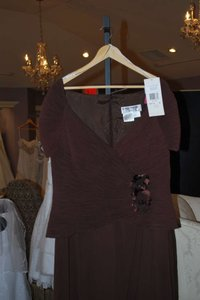 Daymor Couture Brown Daymour Mother Of The Wedding Dress Brown Dress