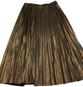 about Pkeated Skirt Bronze shimmer