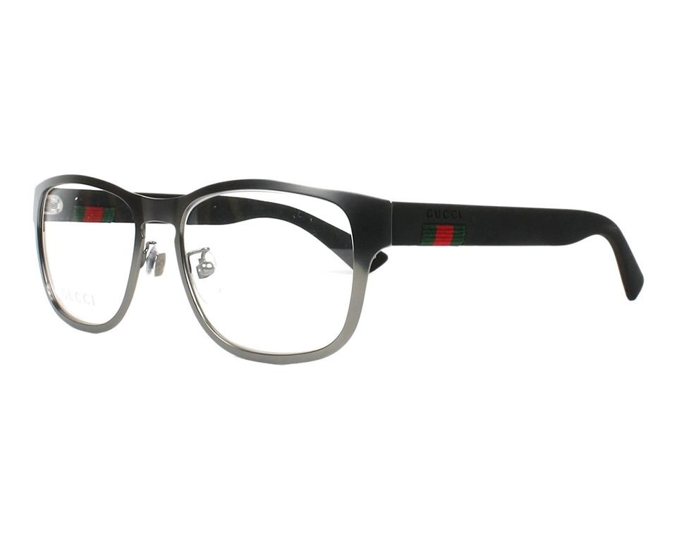 f9ae3d8b5a999 Gucci Gucci Unisex Prescription Eyewear Frames GG0175O 54mm Ruthenium 001  Image 0 ...