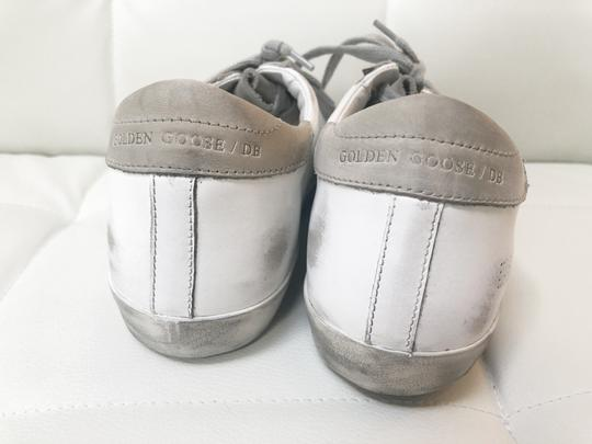Golden Goose Deluxe Brand Ggdb Superstar Skate Sneaker White and Off-White Athletic Image 9
