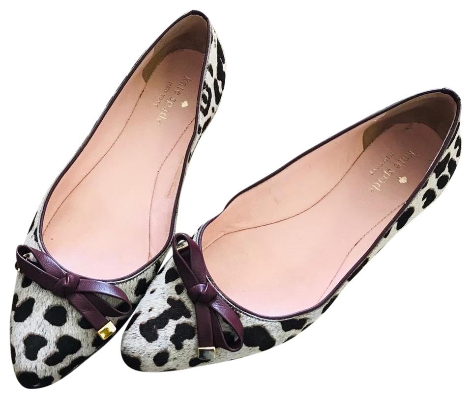 441696ce46cf Kate Spade Leopard Flat Pumps Size US 6.5 Regular (M