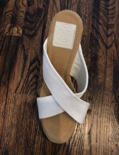 Tory Burch white Wedges Image 3