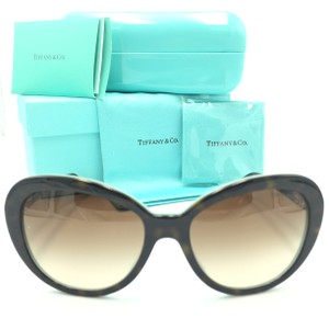 ba3e59eab0df Tiffany   Co. Tiffany Co Oval Dark Tortoise Brown Gradient TF4118B-F  Sunglasses
