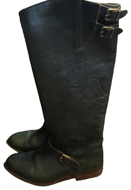 Item - Army Green Boots/Booties Size US 8 Regular (M, B)