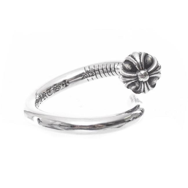 Item - Silver Multiple Xball Ch Plus Nail Sizes Ring