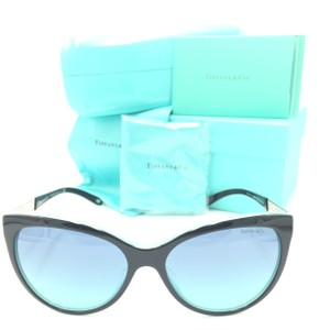 d8004e3d566c Tiffany   Co. Tiffany Cat Eye Black Silver Chain Blue Gradient TF 4119-F