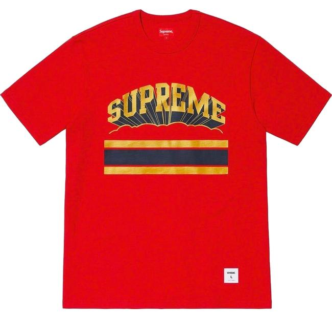 Preload https://img-static.tradesy.com/item/25235302/supreme-red-cloud-arc-ss19-tee-shirt-size-14-l-0-1-650-650.jpg