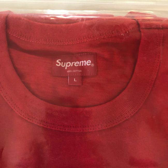 Supreme T Shirt Red Image 3