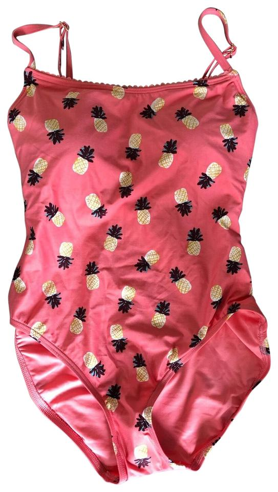 32c5c54ef5 Kate Spade Pink Pineapple One-piece Bathing Suit Size 8 (M) - Tradesy