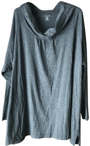 Lands' End Cowl Neck Size 3x (24w-26w) Long Sleeves Vented Hemline Machine Wash Tunic