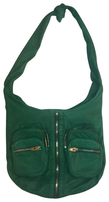 Item - Donna Kelly Green Lambskin Leather Hobo Bag