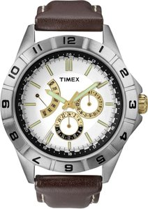 Timex Timex Male Sport Watch T2N517 White Chronograph