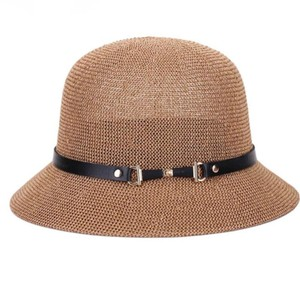 Other The summer sun boater panama hat with Wide Brim hat style for Women, Straw, straw hats and UV Protection