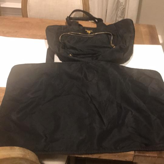 Prada Tote in Black Image 8
