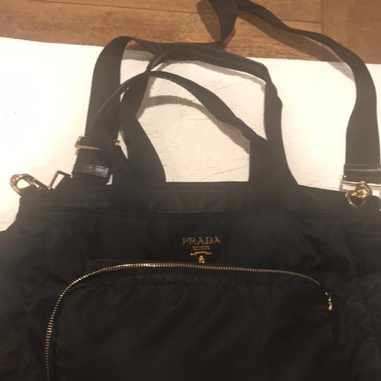 Prada Tote in Black Image 9