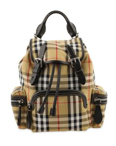 Burberry Vintage Check Canvas & Backpack
