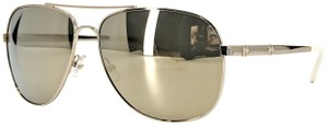 """Juicy Couture Juicy Couture """"JU 589/S"""" Gold & White Aviator Sunglasses"""