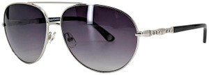 """Juicy Couture Juicy Couture """"JU 582/S"""" Silver & Black Sunglasses"""