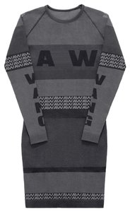 Alexander Wang short dress black grey on Tradesy