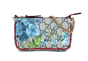 Gucci Limited Edition Wristlet in Red/Blue