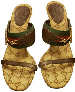bbcfc3822 Brown Gucci Sandals Regular (M, B) Up to 90% off at Tradesy