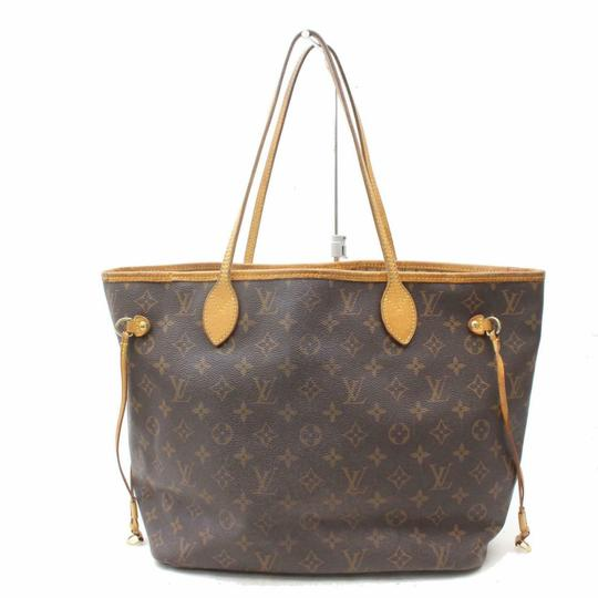 Preload https://img-static.tradesy.com/item/25238354/louis-vuitton-neverfull-443l4462-brown-coated-canvas-tote-0-0-540-540.jpg