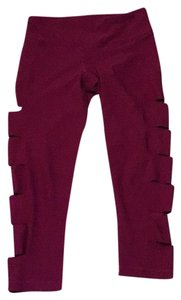 90 Degree by Reflex cranberry crop w/ side cut outs