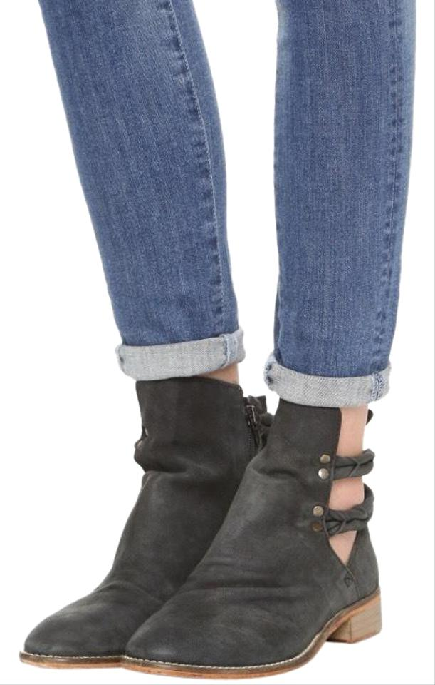 65196482c Free People Smoke Landslide Ankle Boots/Booties Size EU 40 (Approx ...