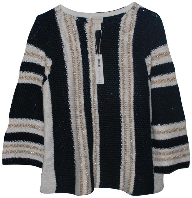 Item - Blue/White/Gold Sweater