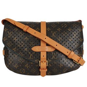 cd2ba12d139c Louis Vuitton Canvas Flore Limited Edition Monogram Cross Body Bag