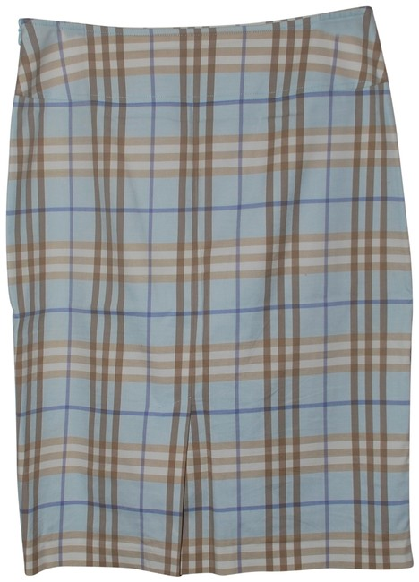 Burberry London Skirt Blue Palid Image 0