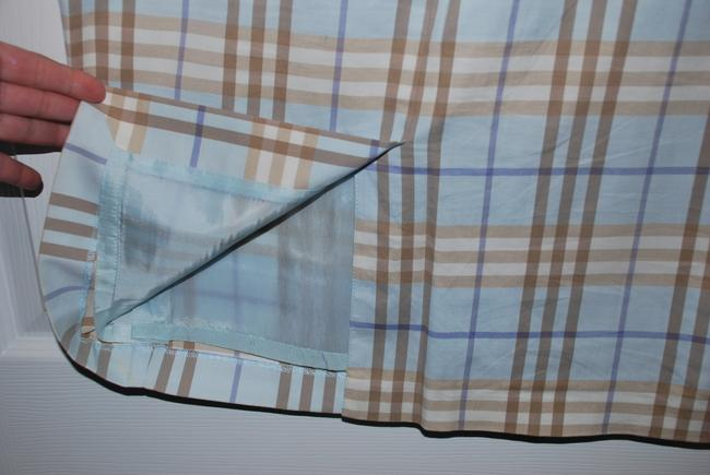 Burberry London Skirt Blue Palid Image 1