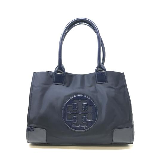 Preload https://img-static.tradesy.com/item/25239313/tory-burch-ella-mini-french-women-s-navy-nylon-tote-0-0-540-540.jpg