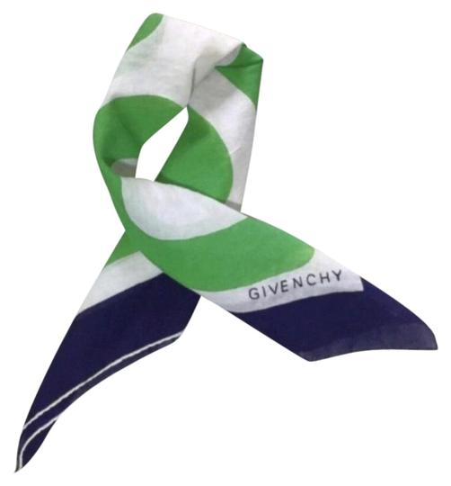Preload https://img-static.tradesy.com/item/25239318/givenchy-green-white-and-navy-blue-vintage-scarfwrap-0-1-540-540.jpg