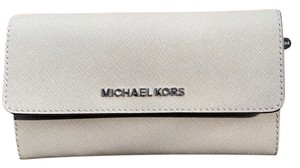 MICHAEL Michael Kors Large Jet Set Travel Trifold Wallet