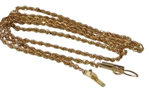 Italy 18k gold necklace