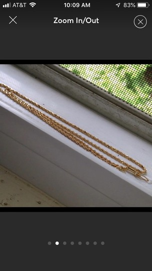 Italy 18k gold necklace Image 1
