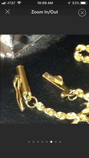 Italy 18k gold necklace Image 5