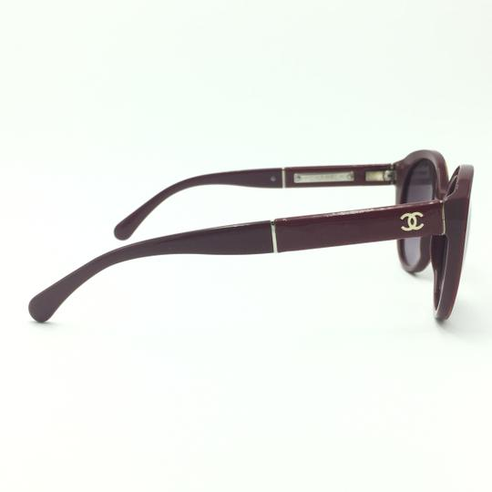 Chanel Red Cat Eye Sunglasses 5252 1426/S1 Image 4