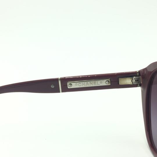 Chanel Red Cat Eye Sunglasses 5252 1426/S1 Image 6