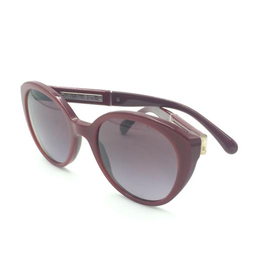 Chanel Red Cat Eye Sunglasses 5252 1426/S1 Image 7