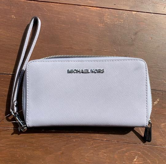 MICHAEL Michael Kors Spring Leather Silver Hardware Satchel in Lilac Image 2
